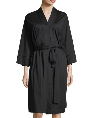 Bliss Long Sleeve Short Robe