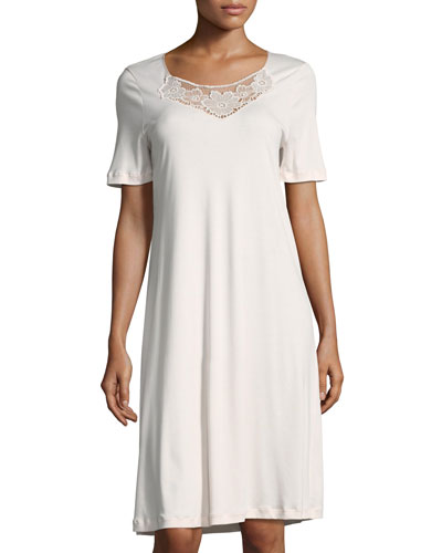 Rosalie Short-Sleeve Nightgown