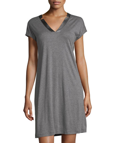 Ivy Cap Sleeve Short Gown