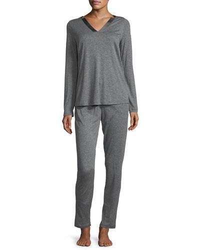 Ivy Long-Sleeve Pajama Set
