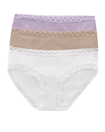 Three-Pack Bliss Cotton Girl Briefs