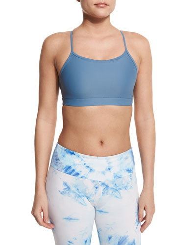 Triangle-Strap Sports Bra