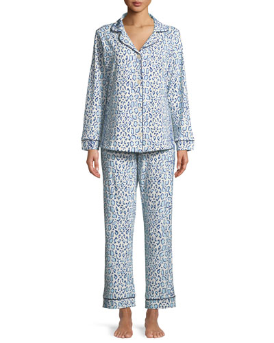 Mighty Jungle Long-Sleeve Classic Pajama Set
