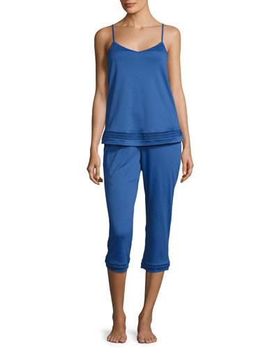 Stella Crop Pajama Set