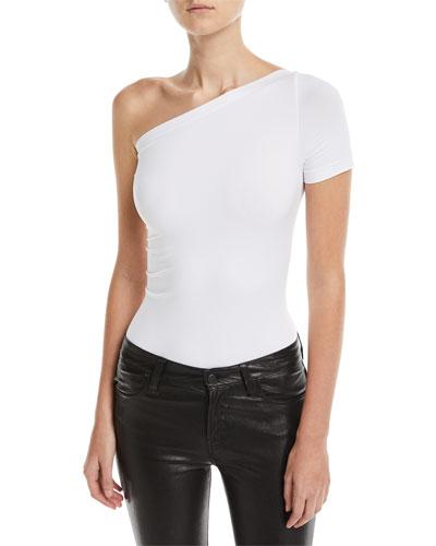 One-Shoulder Seamless Bodysuit