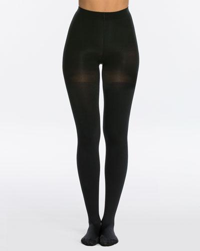 Luxe Leg Blackout Opaque Tights, Size E