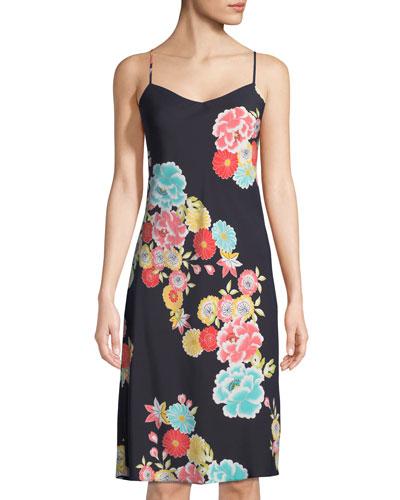 Saipan Floral-Print Nightgown