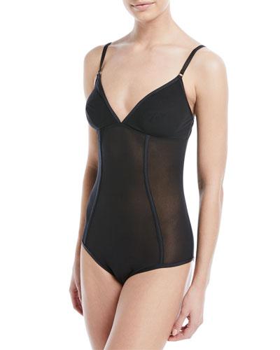 Verona Semisheer Bodysuit