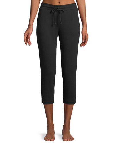 Carmine Crop Lounge Pants