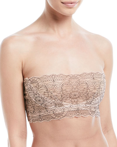 Skin  WAVERLY LACE BANDEAU BRA