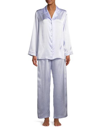 Garbo Classic Silk Pajama Set