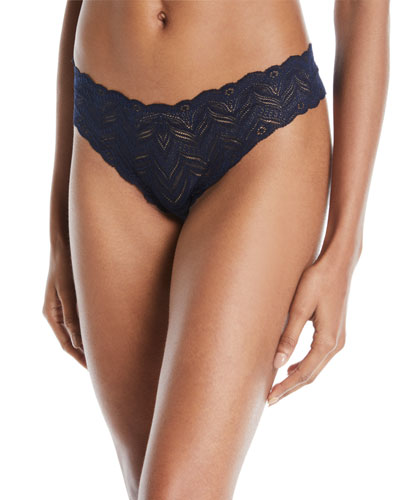 Cosabella Ferrara Low-Rise Lace Thong