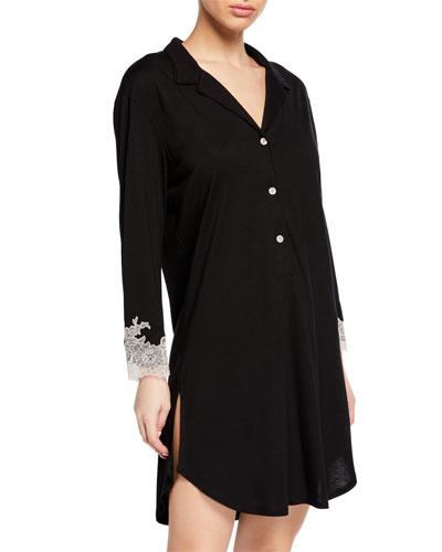 Shangri-La Luxe Knit Sleepshirt