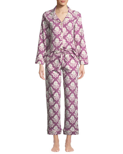 Ikat Classic Pajama Set, Plus Size