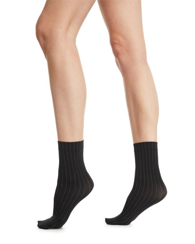 8e0720f3a8 Muriel Pinstriped Ankle Socks Quick Look. Wolford