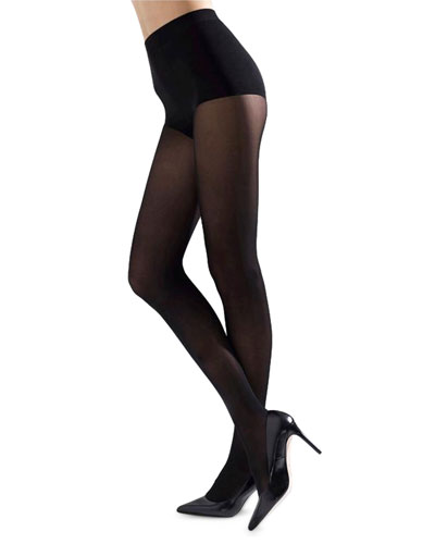 Velvet Touch Opaque Control-Top Tights