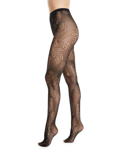 494ddb07ca5 Sheer Feather Net Tights