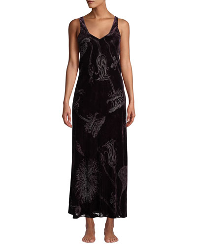 Faberge Velvet Nightgown