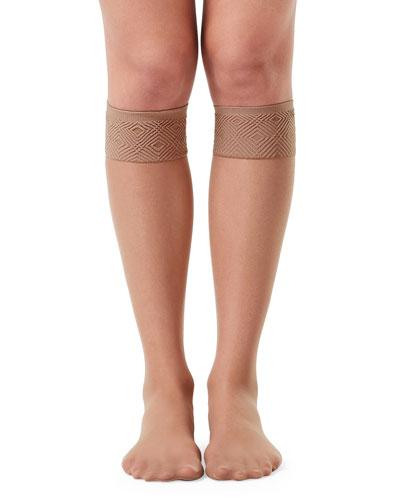 Sheer Knee-High Stockings