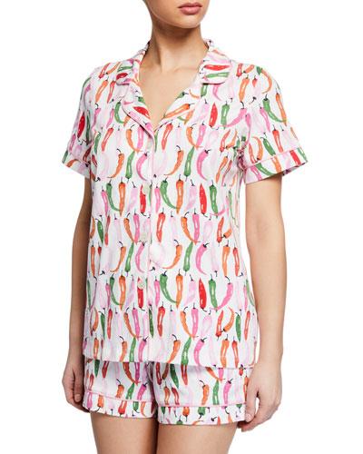 Hot Spicy Shorty Pajama Set