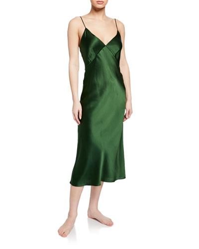 Issa Ivy Silk Nightgown