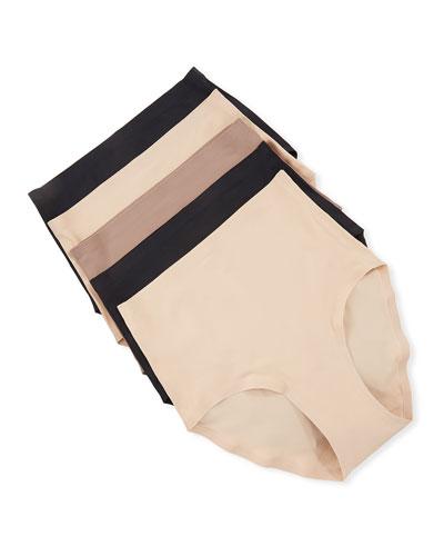5-Pack Soft-Stretch Full Bikini Briefs