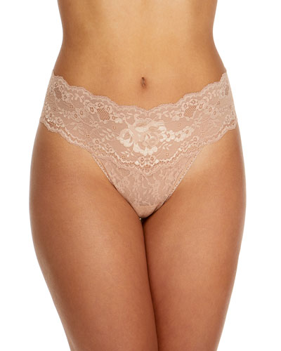 Hanky Panky American Beauty Original-Rise Lace Thong