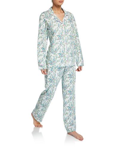 Plus Size Spring Bloom Classic Pajama Set