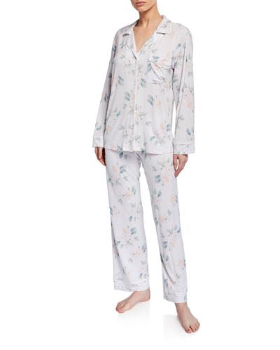 Mother's Blossom Long Pajama Set