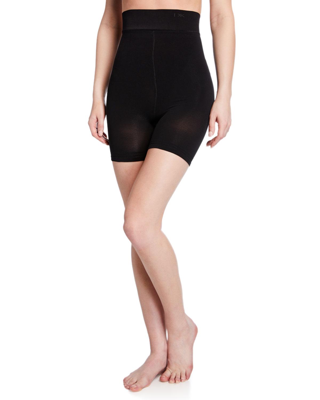 Donna Karan Shorts TONER HIGH-WAIST SHAPING SHORTS