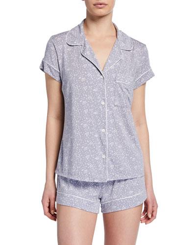 Moon Dots Shorty Pajama Set