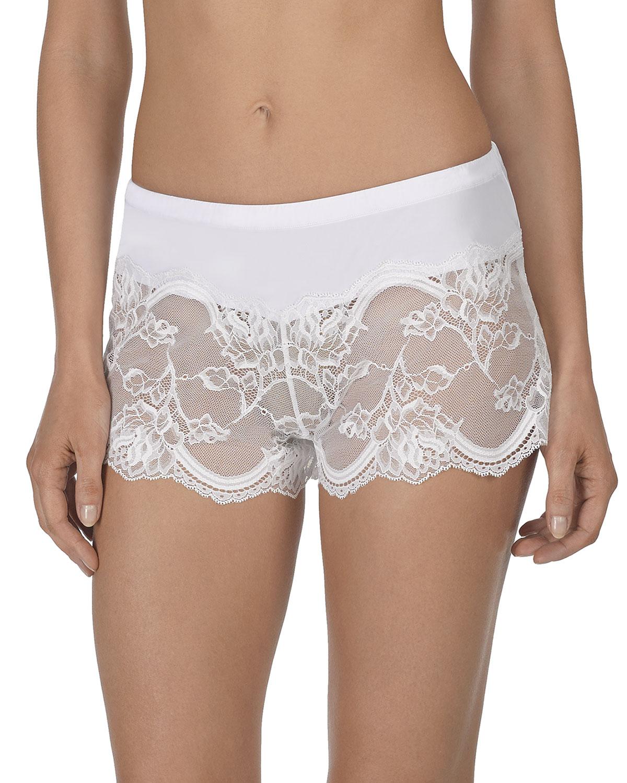 Natori Shorts VOW FLORAL-LACE TAP SHORTS