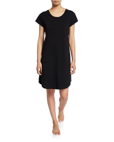 Oksana Cap-Sleeve Sleepshirt