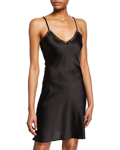 Sienna Silk Slip Dress