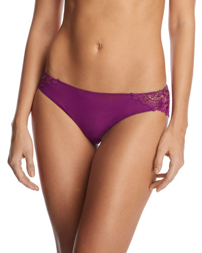 Annabelle Embroidered Tulle Brazilian Briefs