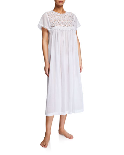 Valerie Lace-Yoke Nightgown