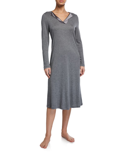Fenja Long-Sleeve Nightgown