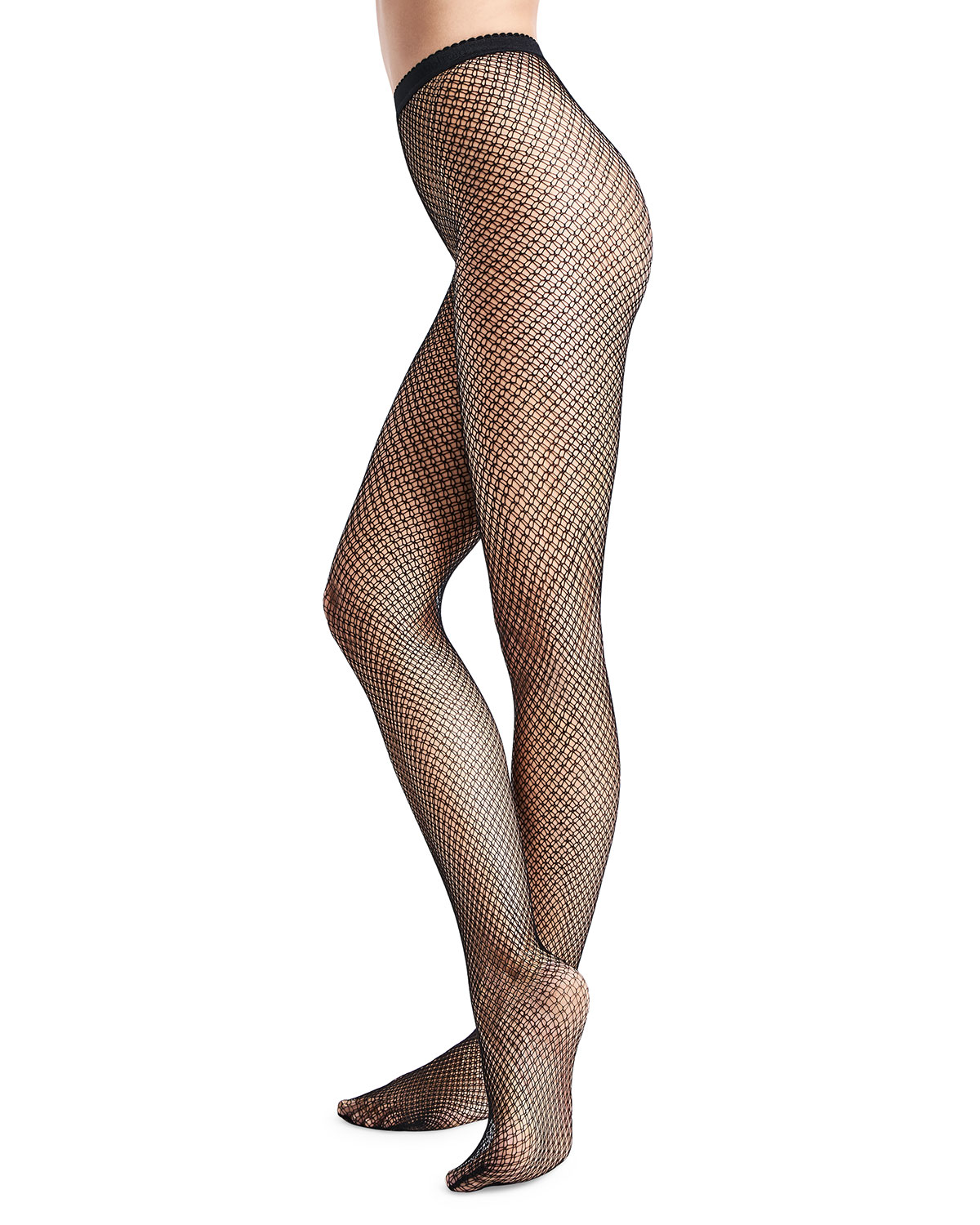 Wolford Pants MULTI-DISH SCALE NET TIGHTS