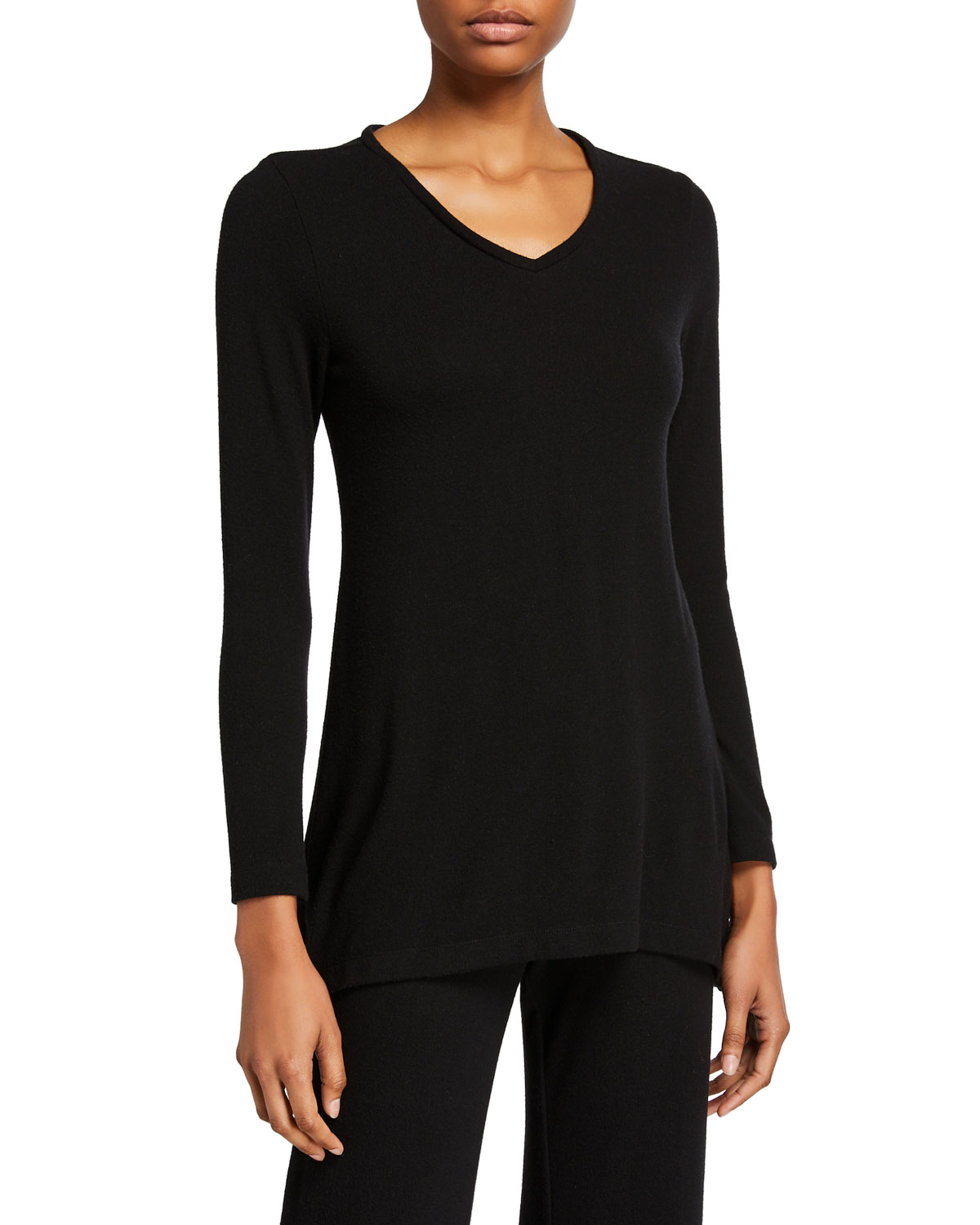 Natori Knitwear KAIA V-NECK KNIT TUNIC
