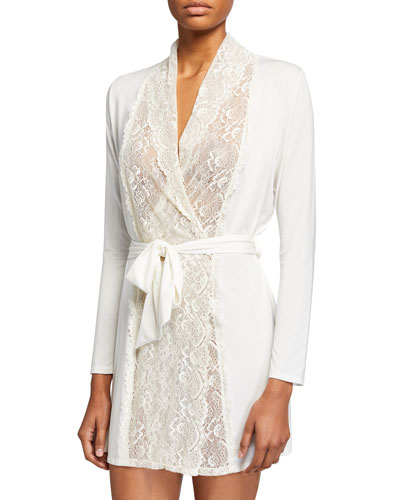 Lace-Front Robe