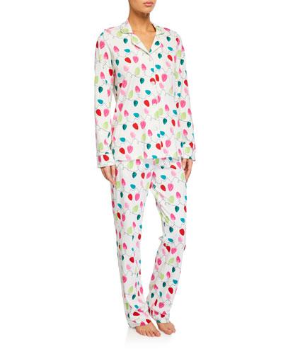 String of Lights Classic Pajama Set