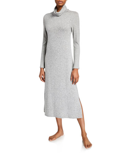 Ulla Mock-Neck Lounger Nightgown