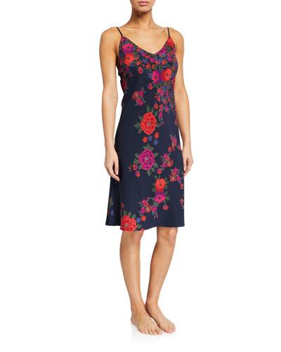 Botanica Floral-Print Nightgown