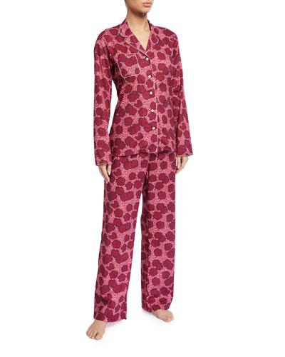 Ledbury Floral-Print Pajama Set