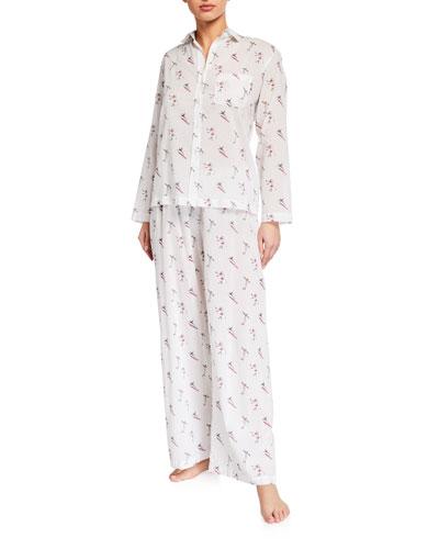 Skiers Voile Pajama Set