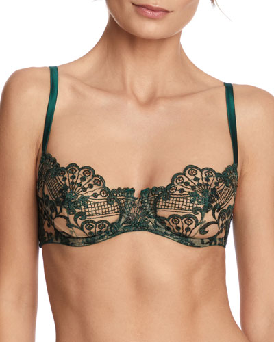 Midnight Dream Balconette Bra