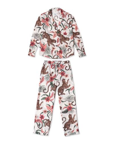 Soleia Cotton Long Pajama Set