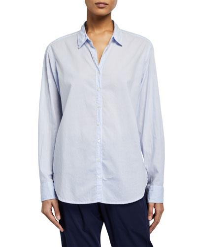 Beau Long-Sleeve Lounge Shirt