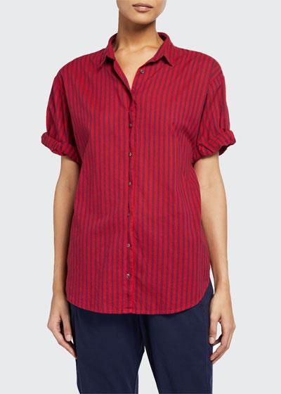 Channing Stripe Lounge Shirt