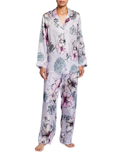 Steel Magnolias Silk Pajama Set